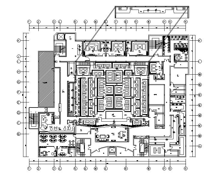 ThirteenAunt酒吧空间设计施工图
