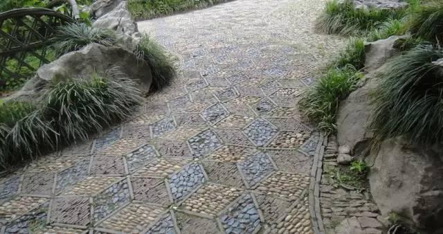园林施工技巧之道路石材铺装