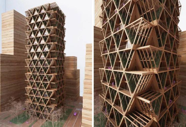 拥有独立生态系统的大楼-城市中的垂直农场_27