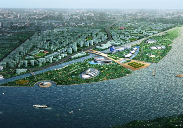 [上海]复兴岛地区控制性详细规划设计方案文本