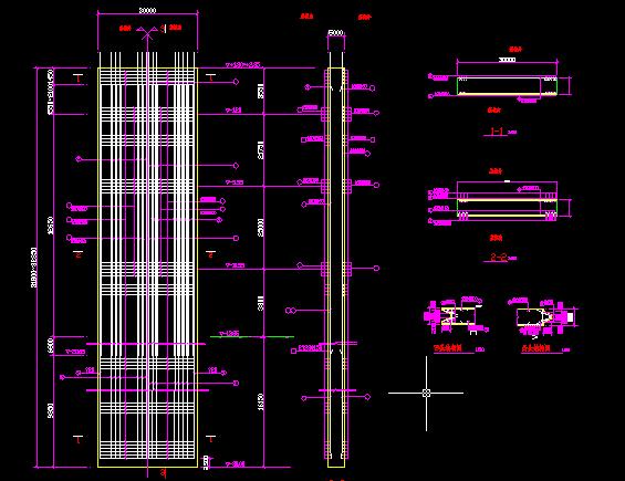 上海环球金融中心基坑逆作法施工结构图_3