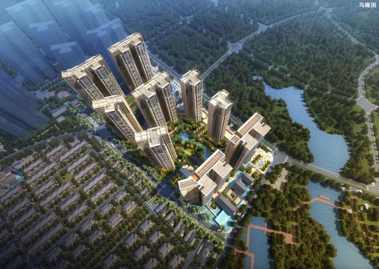 [广东]保利共青湖居住区建筑设计方案文本