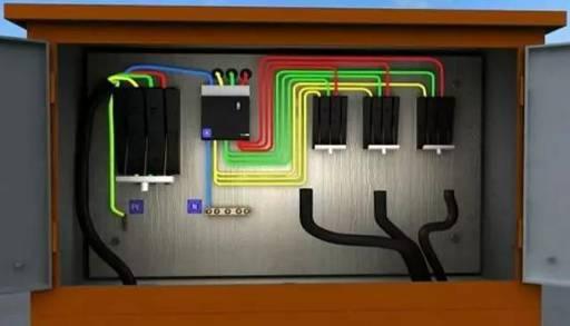 详述总配电箱到分配电箱的接法_6