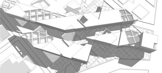 干货 SketchUp+photoshop快速渲染制作建筑景观效果图教程_11