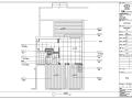 远大都市风景五期精装项目B户型室内设计施工图