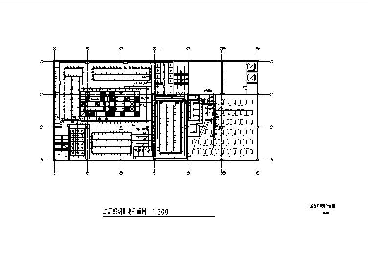 大型服装店强电设计图纸_5