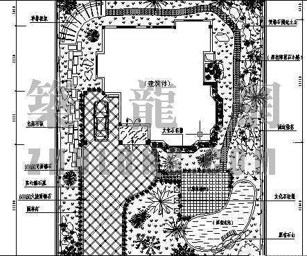 私人别墅规划平面图
