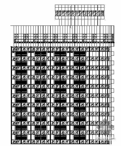 [山西]某研究院铝塑板外立面装饰工程施工图