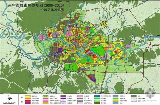 南宁市城市总体规划(2006-2020)