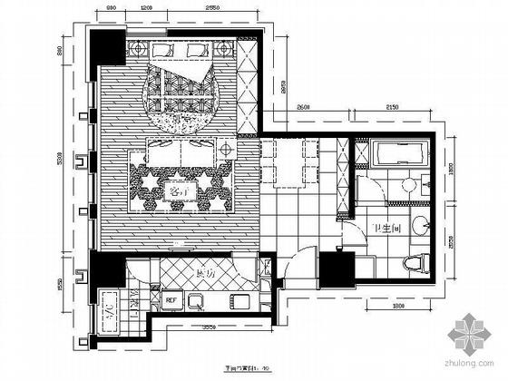 现代小户型设计方案图