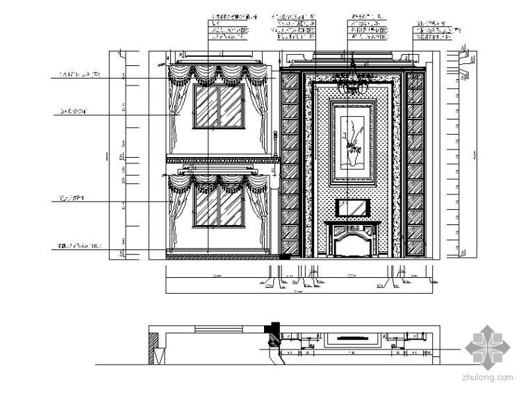 经典五层别墅样板房装修施工图_2