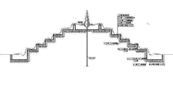 叠瀑施工图