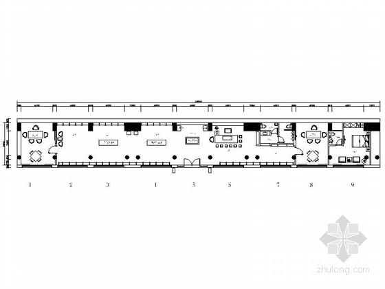 [云南]高端品牌中式风格茶庄装修施工图(含效果及报价表)