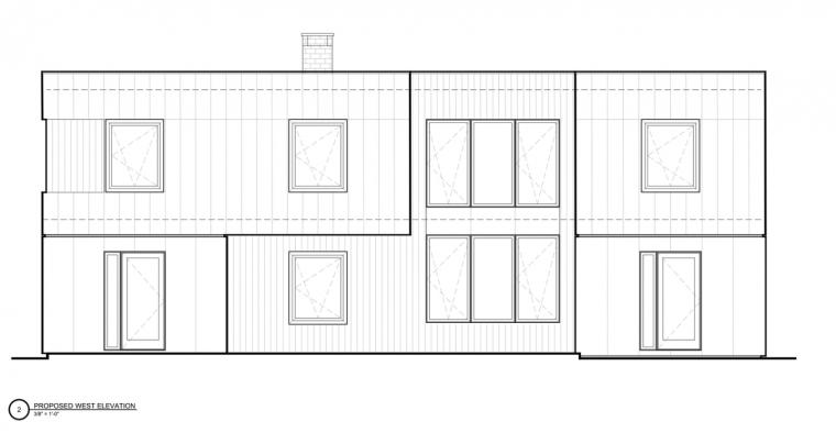 美国新帕尔茨住宅-1 (13)立面图