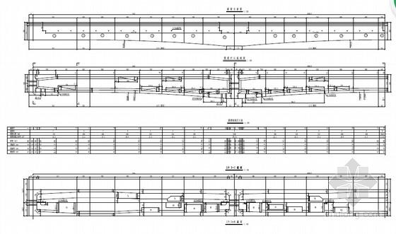 [湖南]32+48+32m单线有砟轨道悬臂灌注连续梁设计图52张(含附属设施构造)