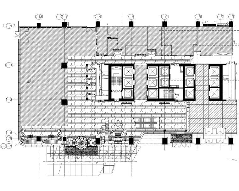 HBA--山东喜来登酒店公共区域及样板间室内装修施工图+效果图