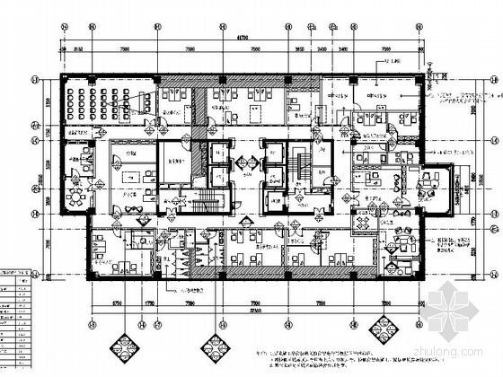 [江苏]精致国际大酒店行政办公空间装修图