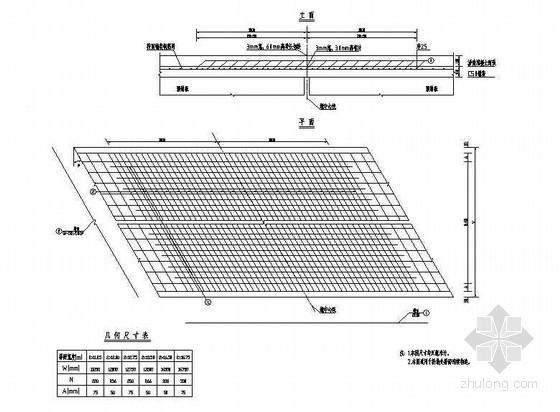 10m预应力混凝土简支空心板桥面连续钢筋构造节点详图设计