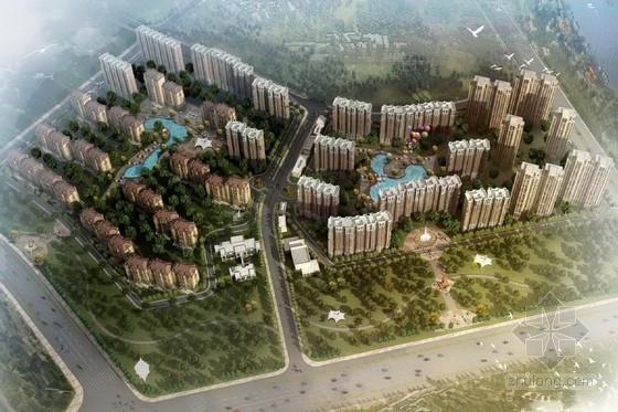 [北京]现代风格住宅区规划及单体设计方案文本(含三种方案)