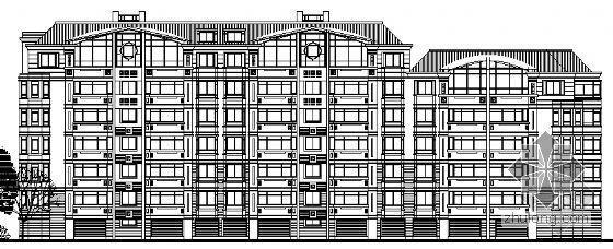 某小区多层住宅群建筑方案图集