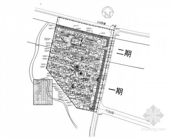 [安徽]大型住宅小区全套电气施工图纸135张