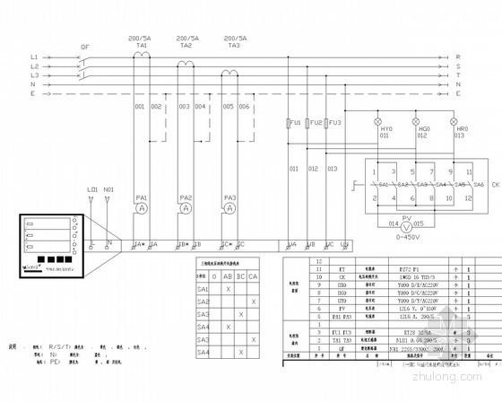小区污水处理站电气控制系统电气施工图35张