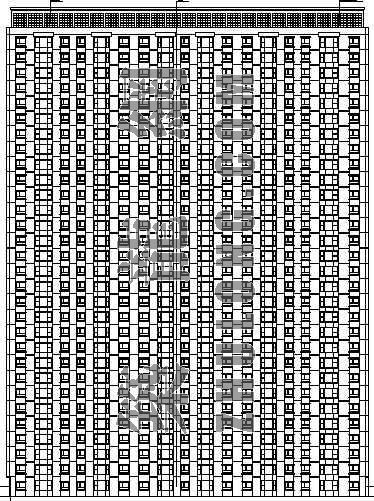 某完整的高层住宅楼建筑施工图