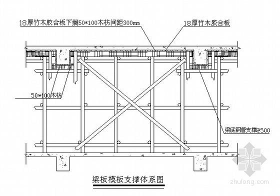 [湖北]住宅楼木质胶合板模板施工方案