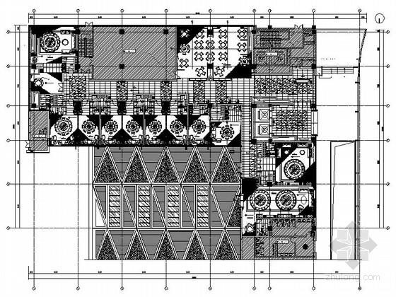 [南京]四星级高档酒店中餐厅室内装修图