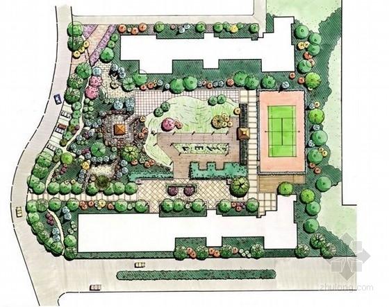 居住区公共绿地景观设计方案