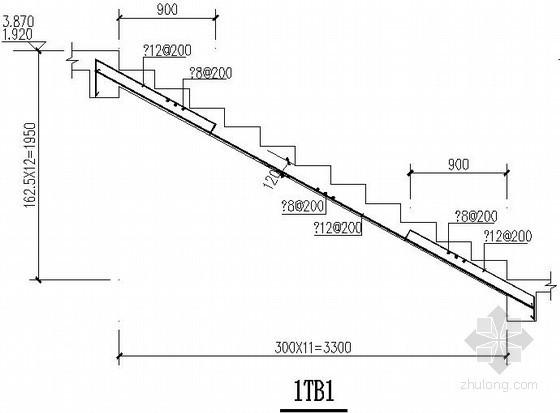 框架结构楼梯节点构造详图