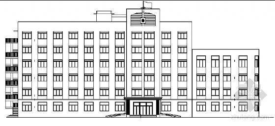 抚顺市某六层检察院办公楼全套建筑施工图