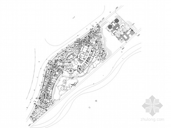 [福州]酒店室内园林景观园建工程施工图