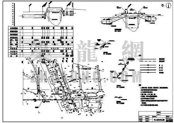 DN1600mm输水管道平面布置图