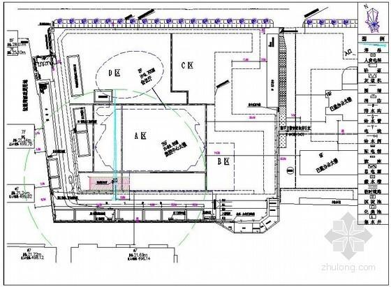办公楼施工现场平面布置图及临设详图