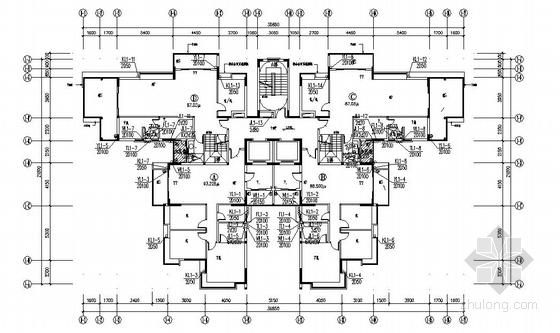 某十五层住宅给排水设计图