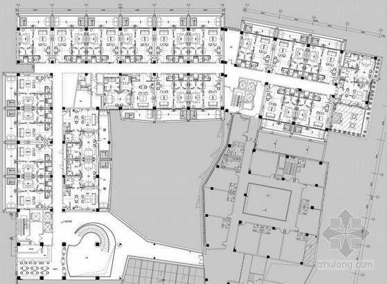 [天津]现代简约精品酒店设计整套方案含效果图