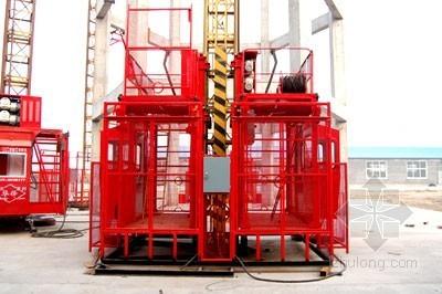 [大连]住宅楼施工升降机专项施工方案
