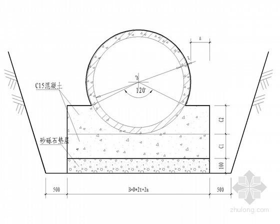 2882米道路排水工程管井节点详图(含设计说明和计算书)