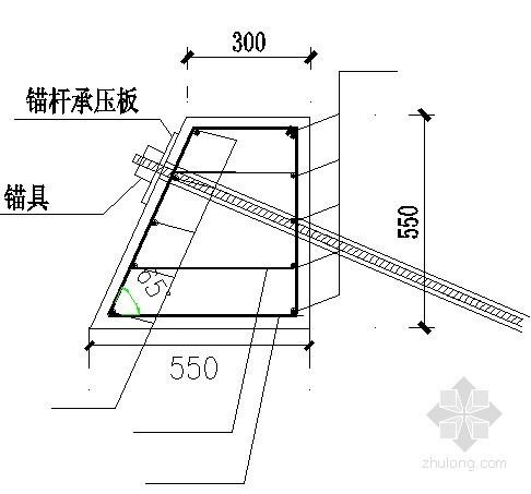 [山东]边坡支护计算书及施工图纸(重力式挡墙)