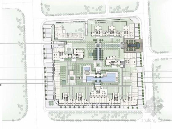 [广东]东南亚风情住宅区景观规划设计方案