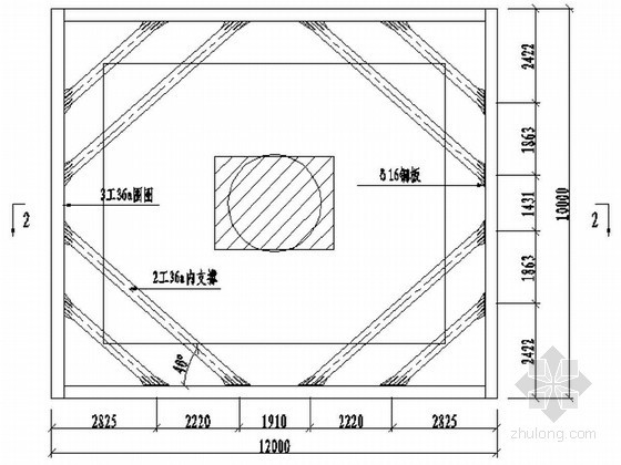 [浙江]某特大桥水中承台钢板桩围堰结构设计及计算书