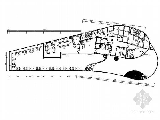 [成都]现代豪华会所整套室内装饰设计CAD施工图