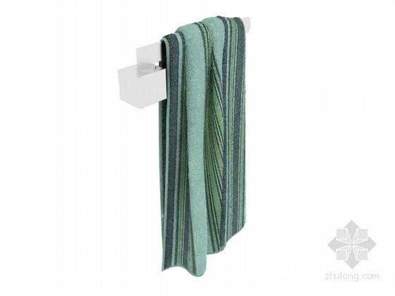 舒适毛巾3D模型下载