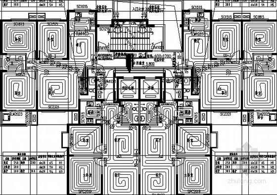 [陕西]高档住宅区采暖及通风排烟设计施工图