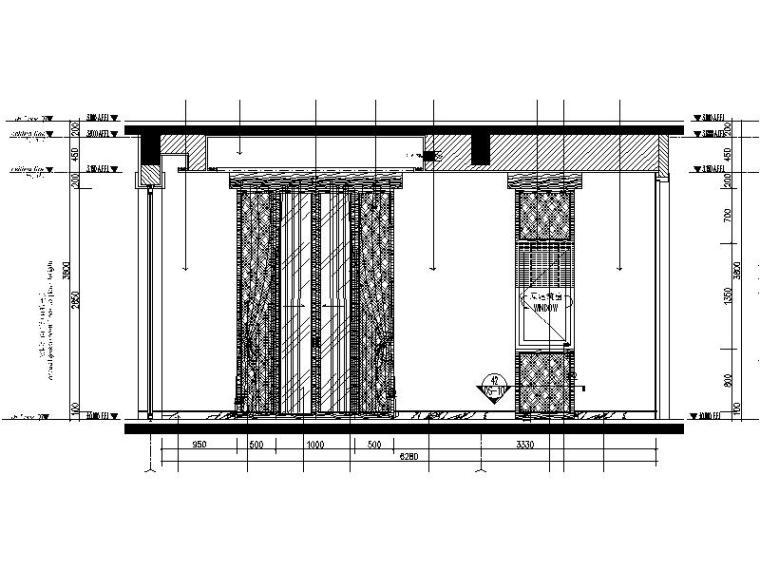 [海口]复古奢华低层别墅样板间室内设计施工图(含软装方案)_4