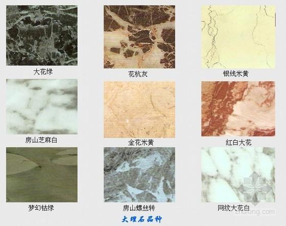 建筑装饰材料培训讲义(装饰石材)