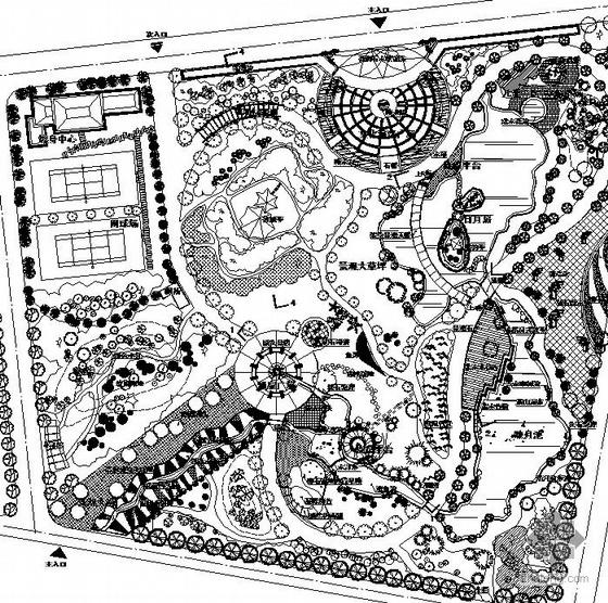 上海某公共绿地景观设计