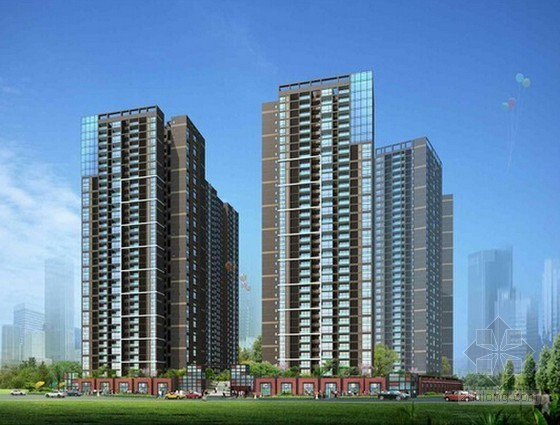 [南京]大型住宅楼建设项目投资估算及财务分析实例(含全套表格)