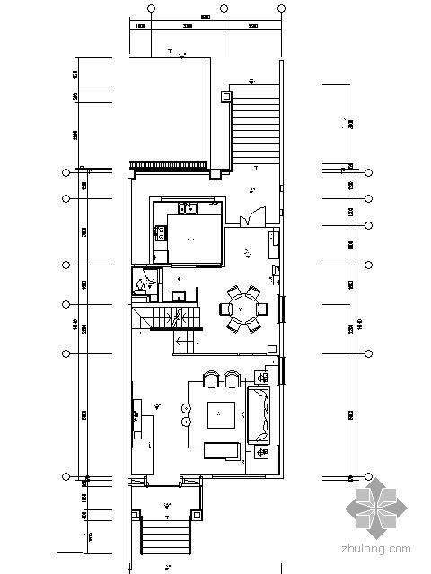 [西安]新中式风格样板别墅施工图